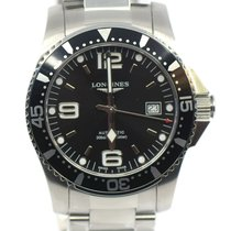 Longines HydroConquest Steel 41mm Black Arabic numerals United States of America, New York, New York