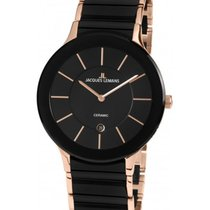 Jacques Lemans High Tech Ceramic Dublin Steel 40mm Black