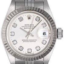 Rolex Datejust Ladies Steel & Diamond Watch 79174 Custom...