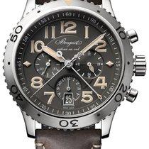 Breguet Type - XXI  new style, gray dial.