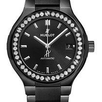 Hublot Classic Fusion Black Magic Bracelet Diamonds  38 mm