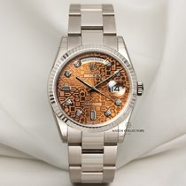 Rolex Day-Date 36 new 2002 Automatic Watch with original box and original papers 118239