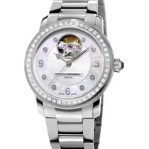 Frederique Constant FC-310HBAD2PD6B Steel Ladies Automatic Heart Beat 34mm new