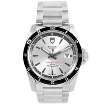 aec1b4b503a Tudor Grantour Silver Dial Steel Mens Watch 20500n Box Card