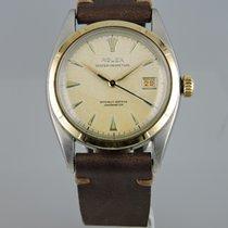 Rolex Chronometer 36mm Automatik 1953 gebraucht Datejust (Submodel) Weiß