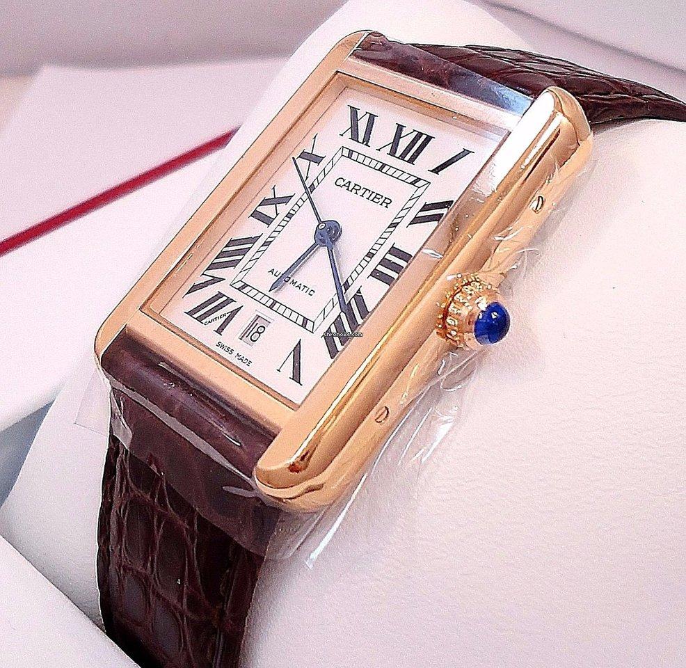 fe0e4dac606 Cartier Tank Solo - all prices for Cartier Tank Solo watches on Chrono24