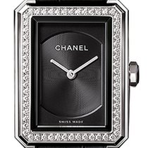Chanel new Quartz 21.5mm Steel Sapphire Glass