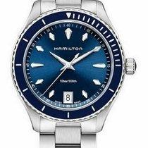 Hamilton Jazzmaster Seaview Staal Blauw