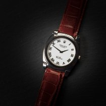 Rolex Cellini pre-owned 36mm White Leather
