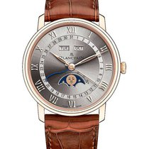 Blancpain Villeret Quantième Complet new Automatic Watch with original box and original papers 6654-3613-55B