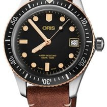 Oris Divers Sixty Five Steel 36mm Black