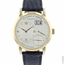 A. Lange & Söhne Little Lange 1 Yellow gold 36mm Silver Roman numerals