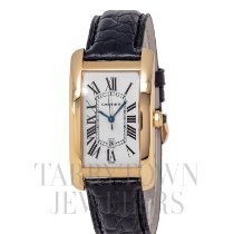 Cartier Tank Américaine Yellow gold 45mm White Roman numerals United States of America, New York, Hartsdale
