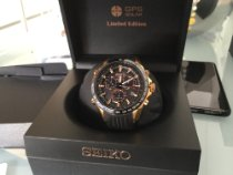 Seiko Astron GPS Solar Chronograph Sse022j1 2015 brukt
