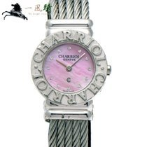 Charriol St-Tropez pre-owned 24mm Pink Steel