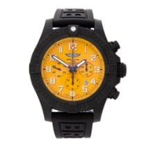 Breitling Plastic Automatic Yellow 50mm pre-owned Avenger Hurricane
