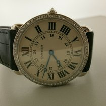 Cartier Ronde Louis Cartier White gold 36mm White