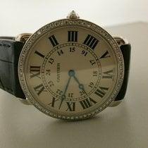 Cartier Ronde Louis Cartier Vitguld 36mm