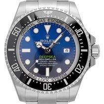 Rolex Roségold Automatik Blau 44mm neu Sea-Dweller Deepsea