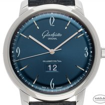 Glashütte Original Sixties Panorama Date new Automatic Watch with original box and original papers 2-39-47-06-02-04