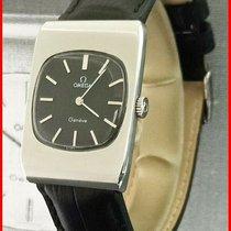 Omega Genève Steel 25mm Black No numerals