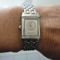 Jaeger-LeCoultre Reverso Duetto 266.882.443 neue Nr. 266.81.20 Good Steel 21mm Manual winding