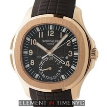 Patek Philippe Aquanaut Rose gold 41mm Brown Arabic numerals United States of America, New York, New York