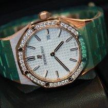 Audemars Piguet Royal Oak Lady new Quartz Watch with original box and original papers 67651or.zz.1261or.01