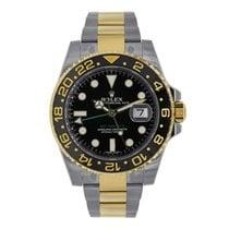 Rolex GMT-MASTER II Steel & 18K Yellow Gold Watch 116713