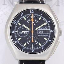 チュチマ (Tutima) BUND Military Chronograph Stahl Lemania 5100...