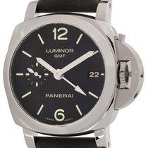 Panerai : Luminor 1950 42 GMT :  PAM 535 :  Stainless Steel...