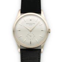 Patek Philippe White Gold Calatrava Watch Ref. 5196G