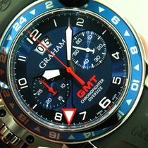 Graham Chronofighter Ref. 2OVGS.B26B Oversize GMT Steel ...