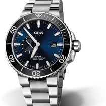 Oris Aquis Small Second 01 743 7733 4135-07 8 24 05PEB Oris DATE SMALL SECOND Acciai 2019 new