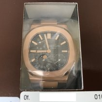 Patek Philippe Nautilus Moonphase 5712R Rosegold Double Sealed