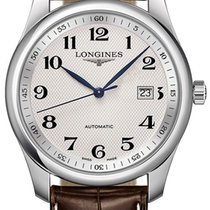 Longines Master Collection Steel 40mm Silver Arabic numerals