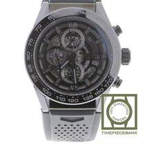 TAG Heuer Carrera Calibre HEUER 01 neu 2019 Automatik Chronograph Uhr mit Original-Box und Original-Papieren CAR2A90.FT6071