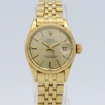 Rolex Oyster Perpetual Date Automatic Gold Lady 6517