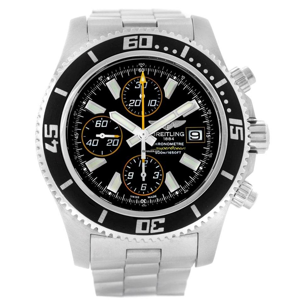 d60c5d24782 Relógios Breitling Superocean Chronograph II usados