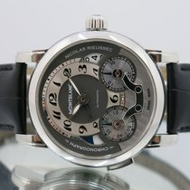 Montblanc Chronograph 43mm Automatic 2013 pre-owned Nicolas Rieussec Grey