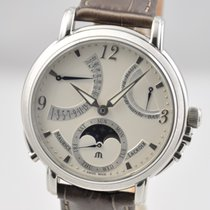 Maurice Lacroix 43,5mm Manual winding pre-owned Masterpiece (Submodel) Silver (solid)
