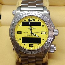 Breitling Emergency Yellow Dial - Serviced by Breitling
