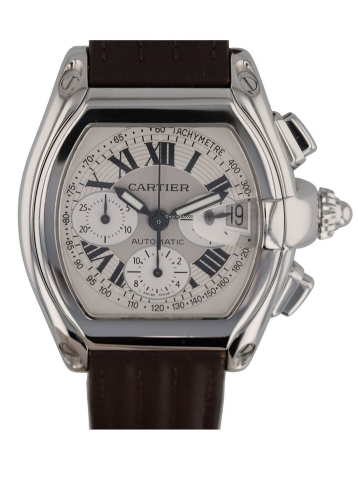 7678edac3e2 Cartier Roadster Watches for Sale - Find Great Prices on Chrono24