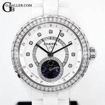 Chanel J12 Ceramic 38mmmm White
