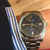 Rolex Oyster Perpetual (Submodel) brugt 39mm Stål