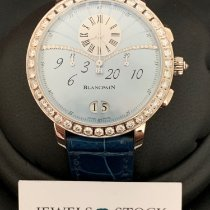Blancpain White gold Automatic Mother of pearl Arabic numerals 38.60mm new Women