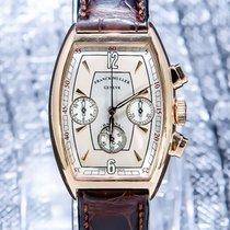 Franck Muller Ροζέ χρυσό 32mm Αυτόματη 5850 CC HV AT μεταχειρισμένο