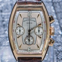 Franck Muller pre-owned Automatic 32mm Silver Sapphire Glass