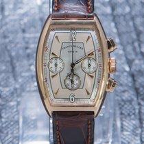 Franck Muller Casablanca Rose gold 32mm Silver Arabic numerals