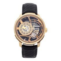 Hautlence 44mm Manual winding pre-owned Black